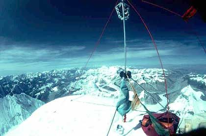 "Höchster Punkt der Welt: ""An den ganz hohen Bergen muss jeder selbst hinaufsteigen können"""