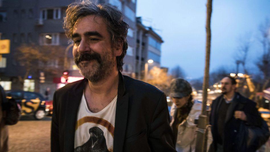 Deniz Yücel am Freitag nach seiner Freilassung in der Türkei