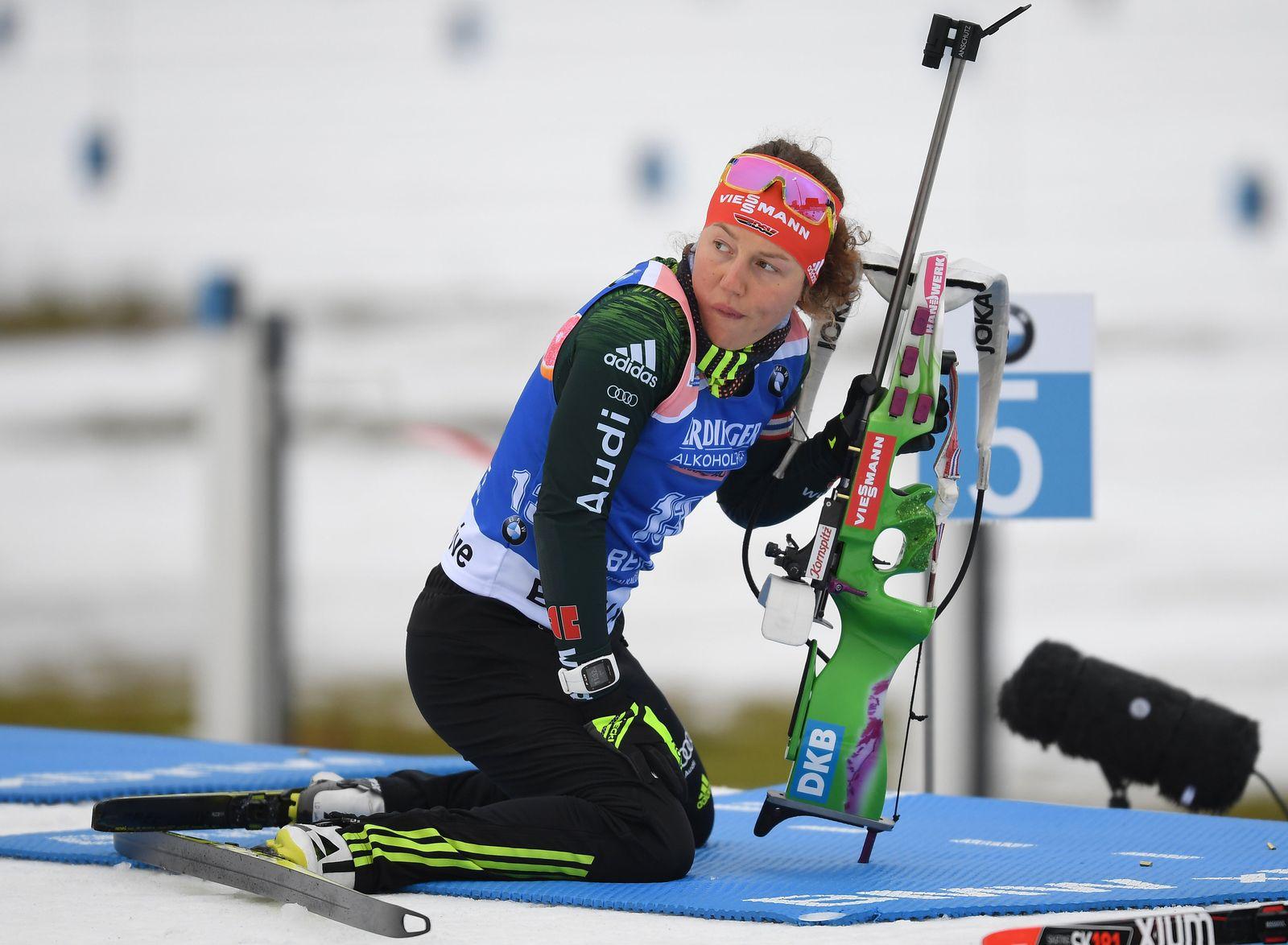 Biathlon Weltcup Oberhof Dahlmeier