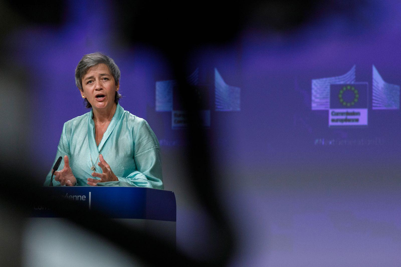 Virus Outbreak Belgium EU Economy