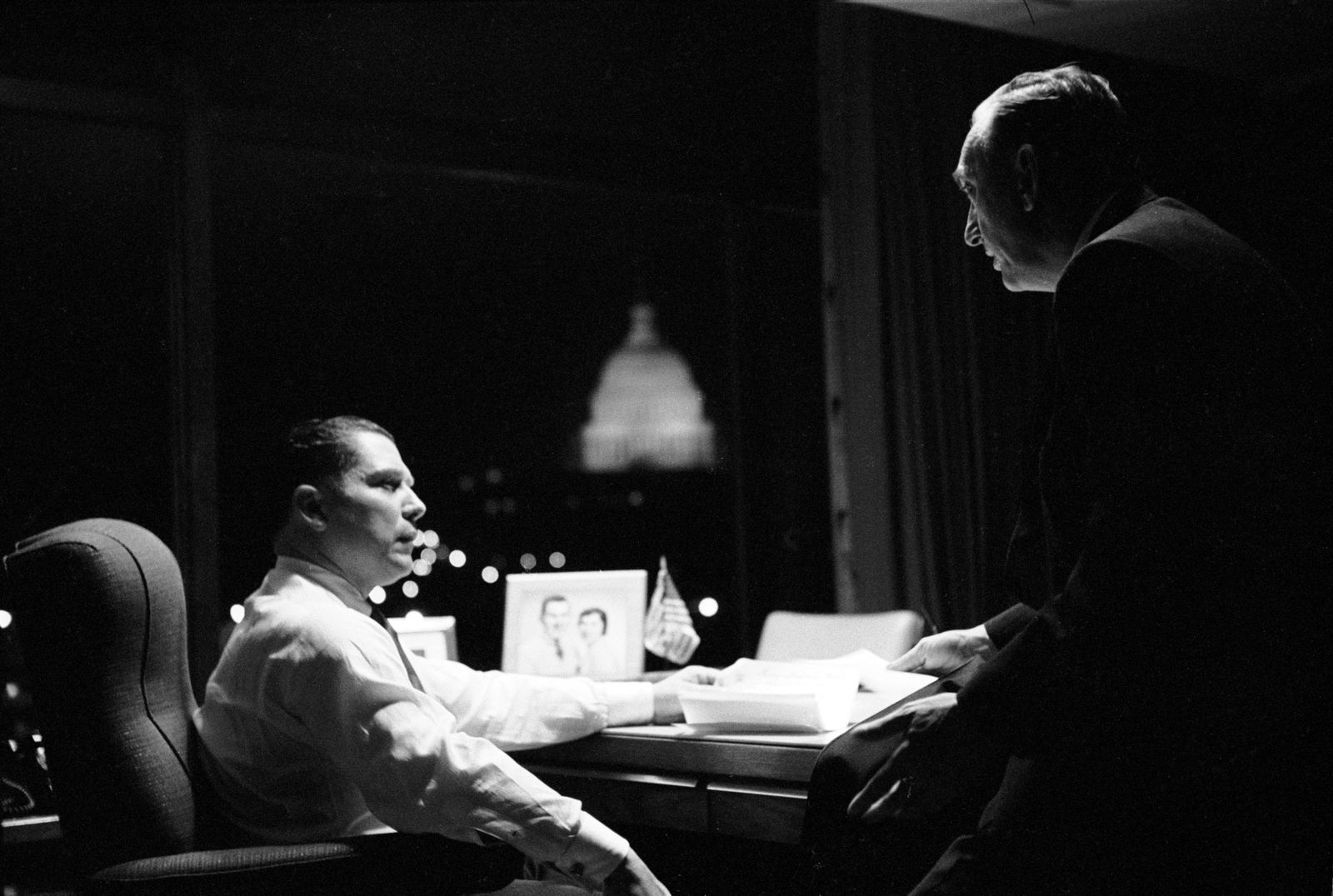 Jimmy Hoffa and Harold Gibbons