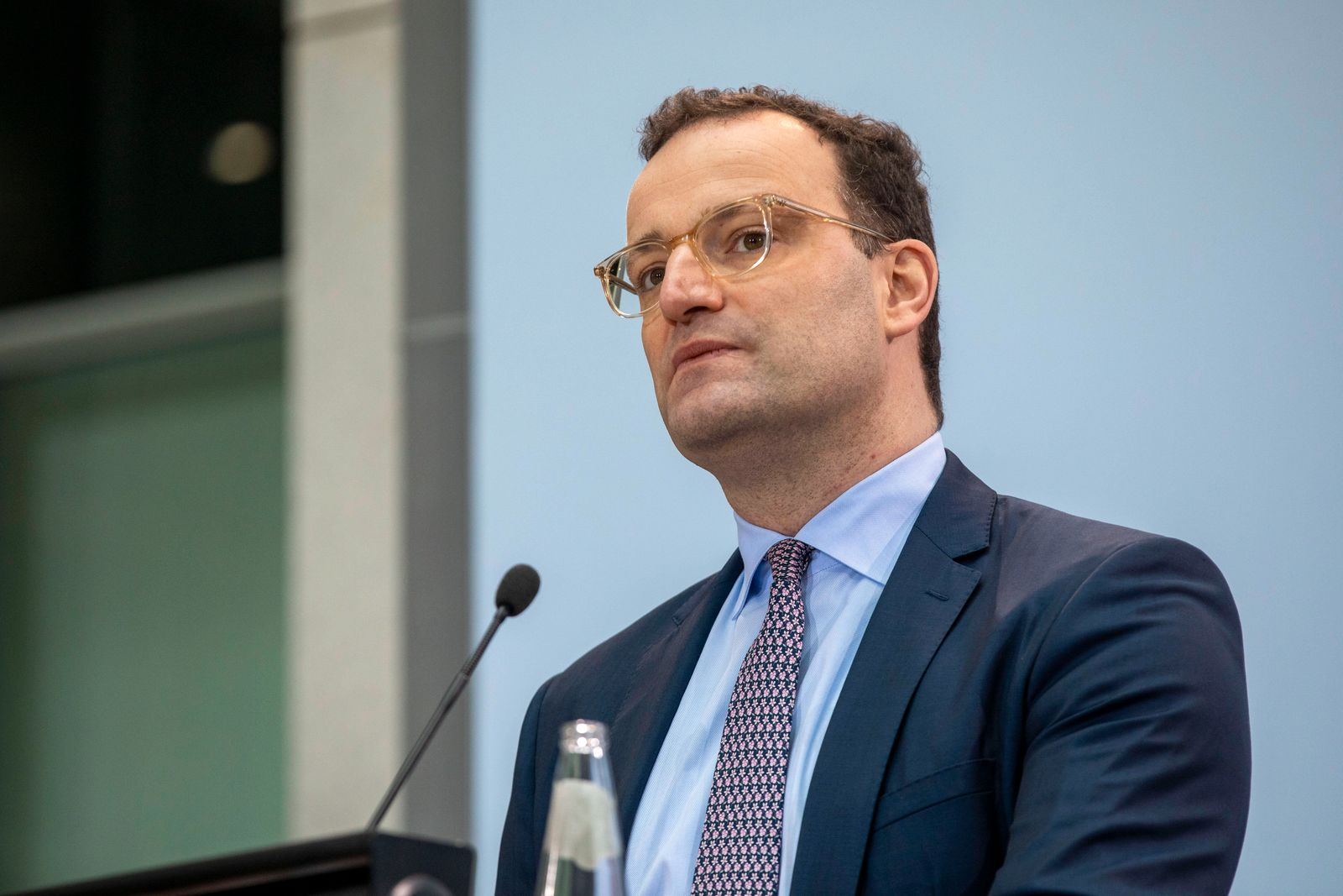Deutschland, Berlin, Gesundheitsministerium, Statement von Gesundheitsminister Jens Spahn CDU zum Thema Impfen, 06.01.2