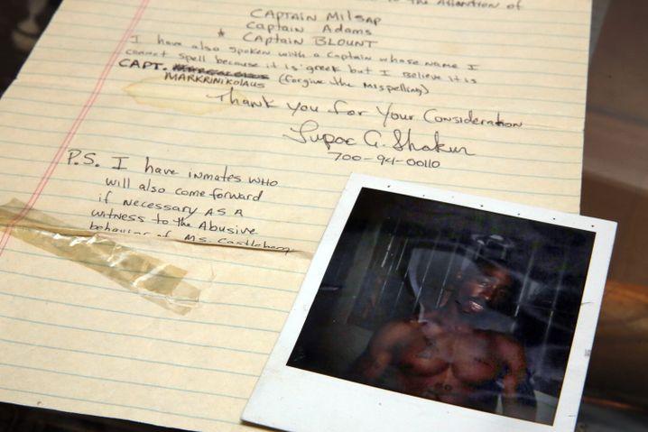 Brief von Tupac Shakur an Madonna