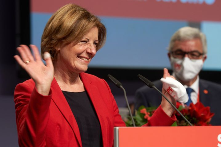 Muss mal wieder die CDU überholen: Malu Dreyer