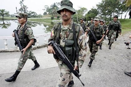 Ecuadors Soldaten marschieren nahe der Grenze zu Kolumbien auf: Verletzung der ecuadorianischen Souveränität
