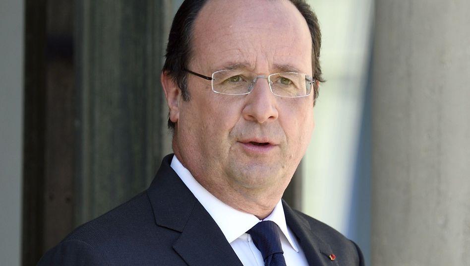 Präsident Hollande: Defizit trotz Sparplans zu hoch