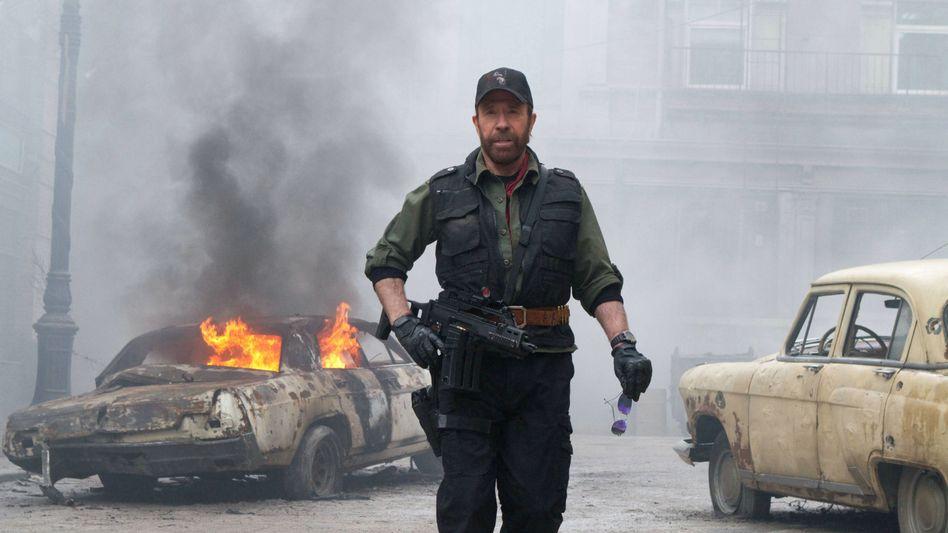 """Norris in Actionfilm """"The Expendables 2"""": """"Sozialismus oder noch Schlimmeres verhindern"""""""