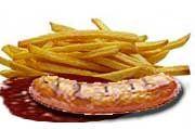 Die Currywurst steht auf Platz zwei der Top ten.