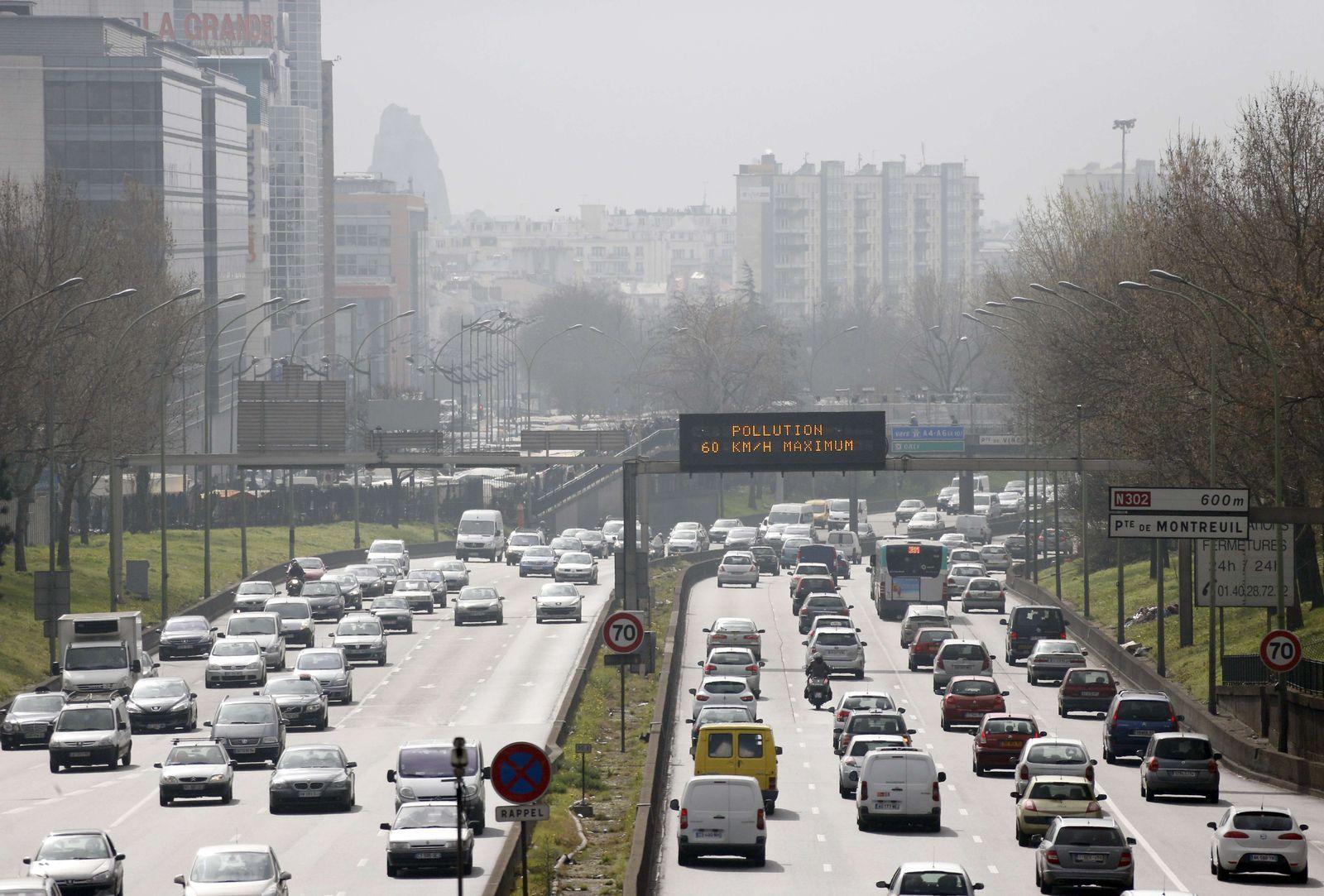 Paris/ Smog/ Autoverbot