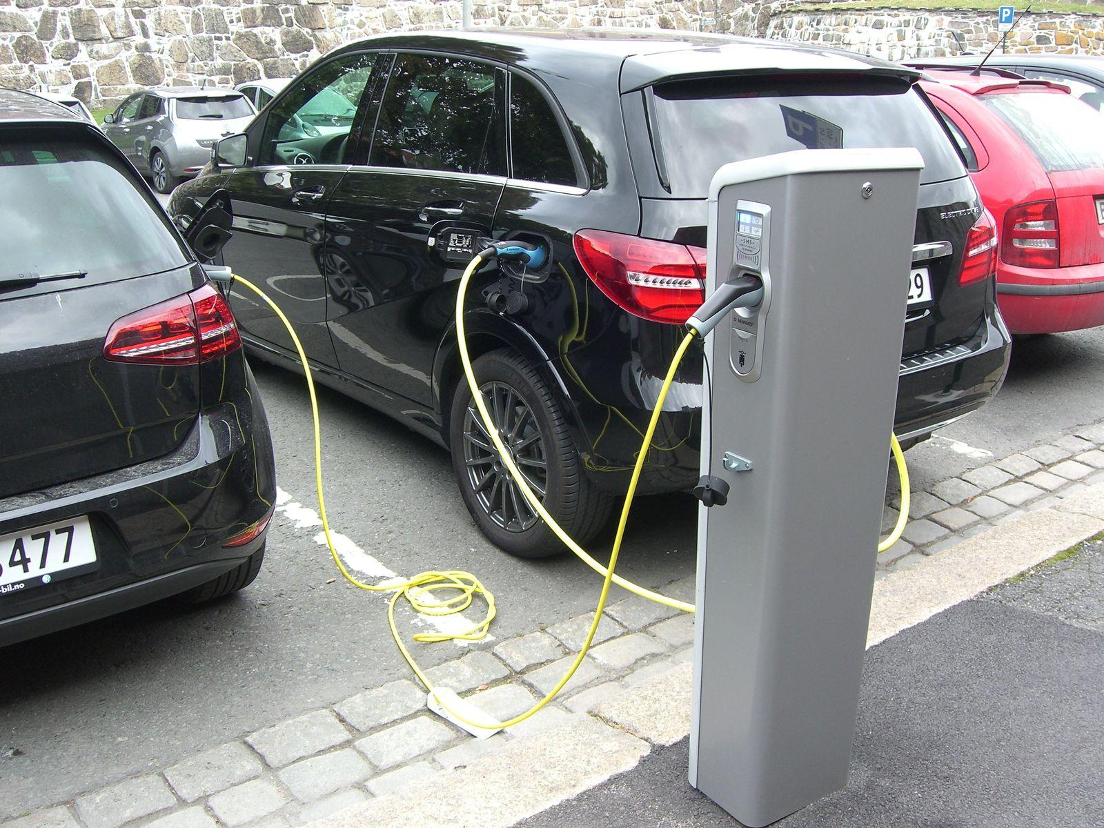 Oslo/ Elektroautos/ Ladestation