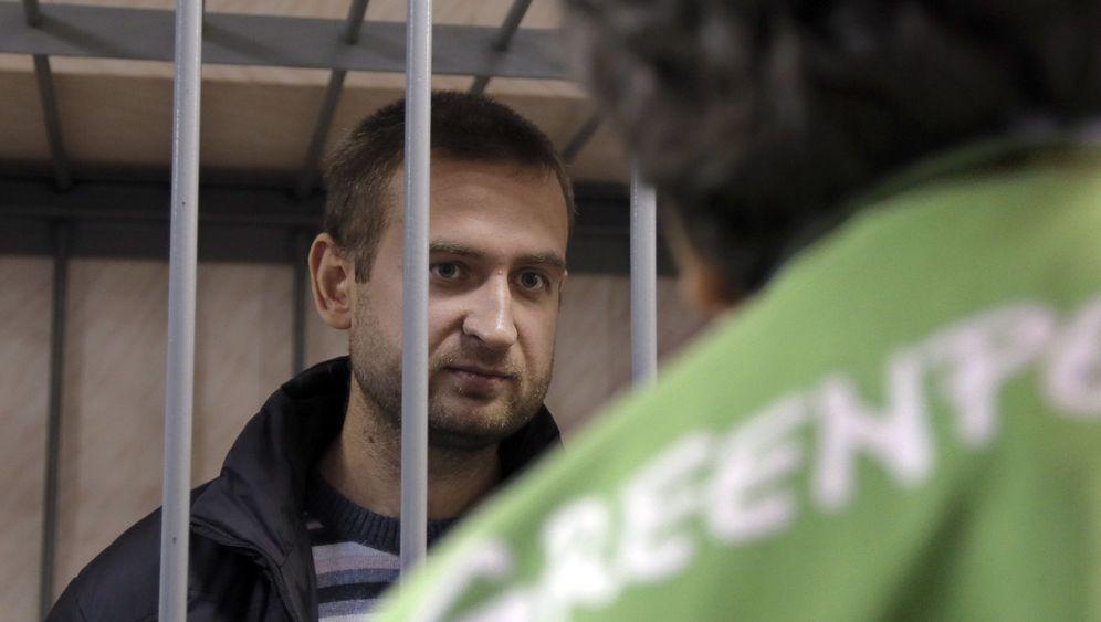 "Fall ""Arctic Sunrise"": Aktivisten vor Gericht"