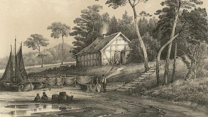 Schöne Aussichten - Heringsdorf vor 170 Jahren