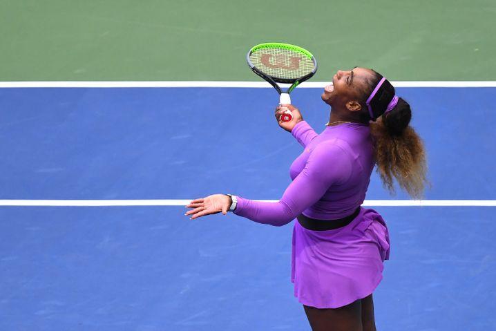 Serena Williams konnte ihre eigenen Fehler nicht fassen