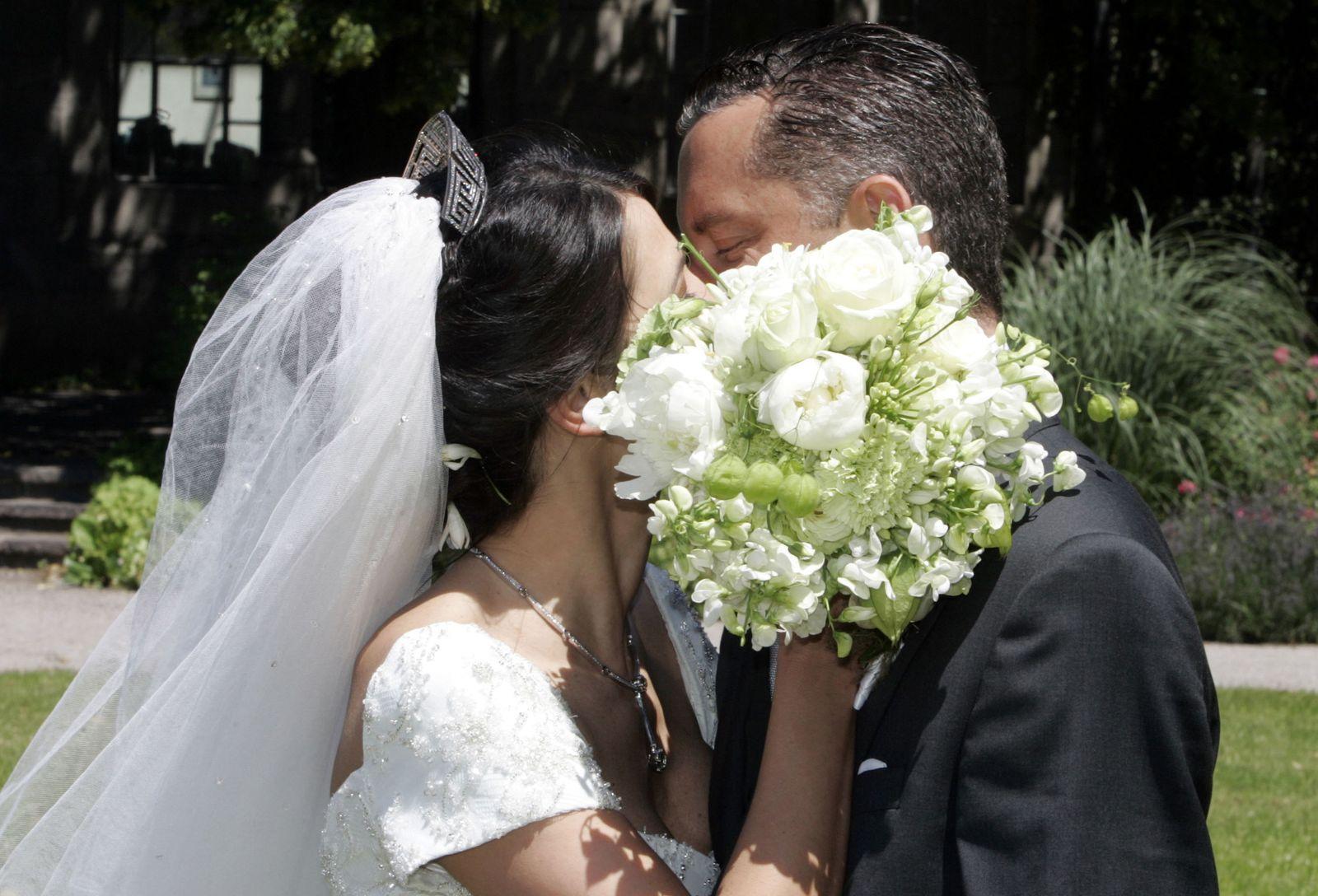 Hochzeit Heiraten Brautpaar