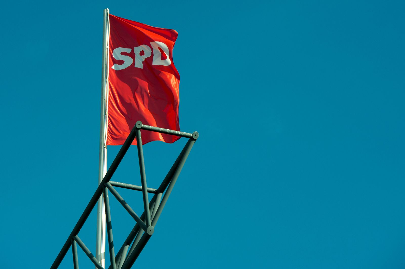 SPD-Fahne
