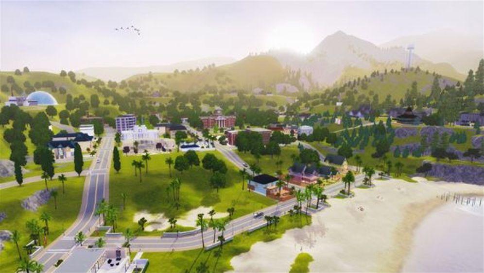 """Lebenssimulation: So sieht die Welt von """"Die Sims 3"""" aus"""