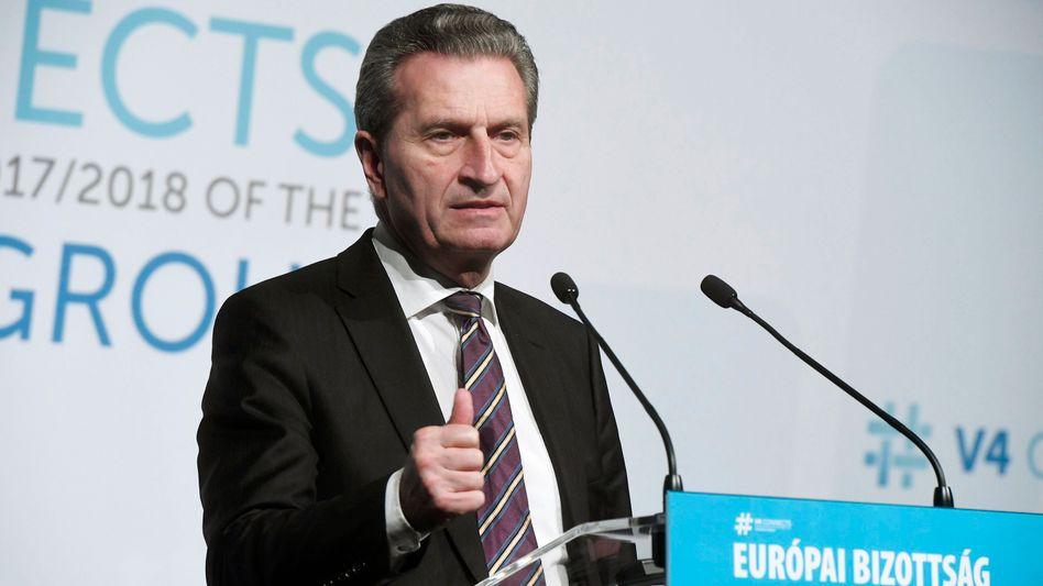 Günther Oettinger (Archivbild)