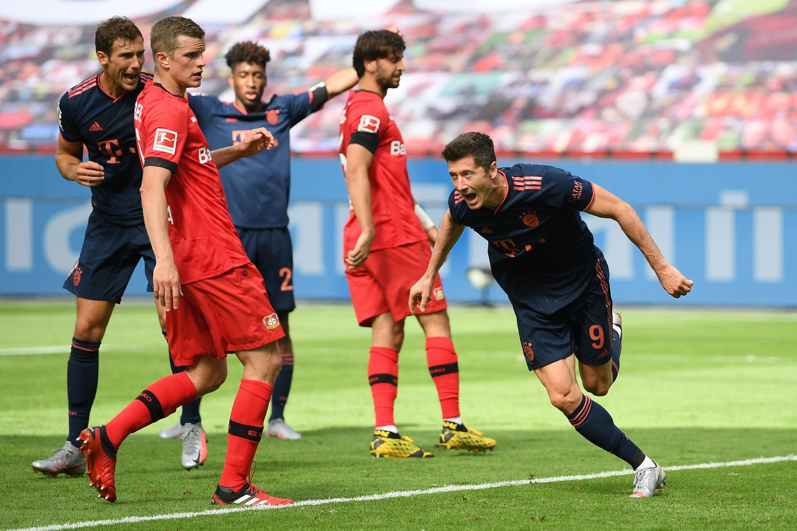 Bayer 04 Leverkusen v FC Bayern Munich, Germany - 06 Jun 2020