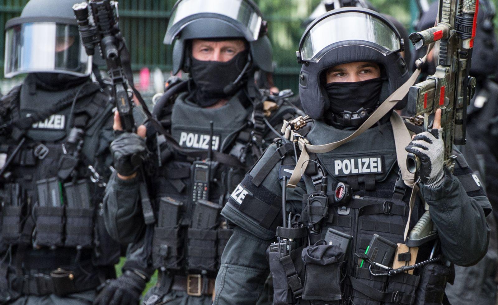 Terrorübung / Frankfurt / SEK