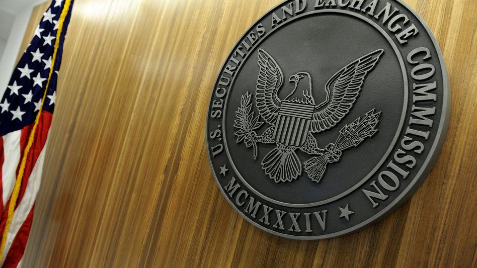 Siege in der SEC-Zentrale in Washington