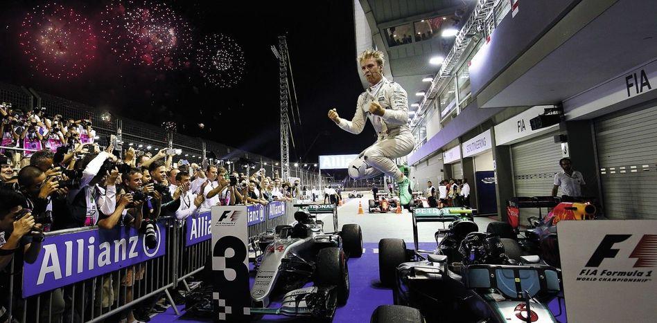 Rennsieger Rosberg in Singapur