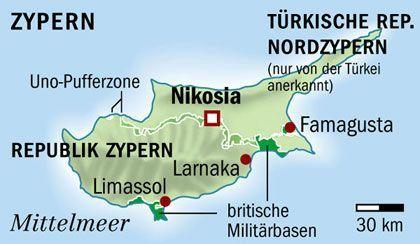 Zypern Griechen Und Turken Doch Zuerst Zyprioten Der Spiegel