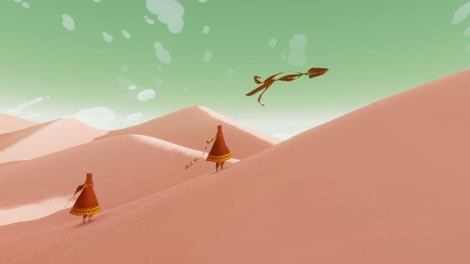 """""""Journey"""" für Playstation 3 und 4 und PC, reines Downloadspiel, circa 15 Euro, auf Playstation 4 bis Anfang Mai 2020 kostenlos"""
