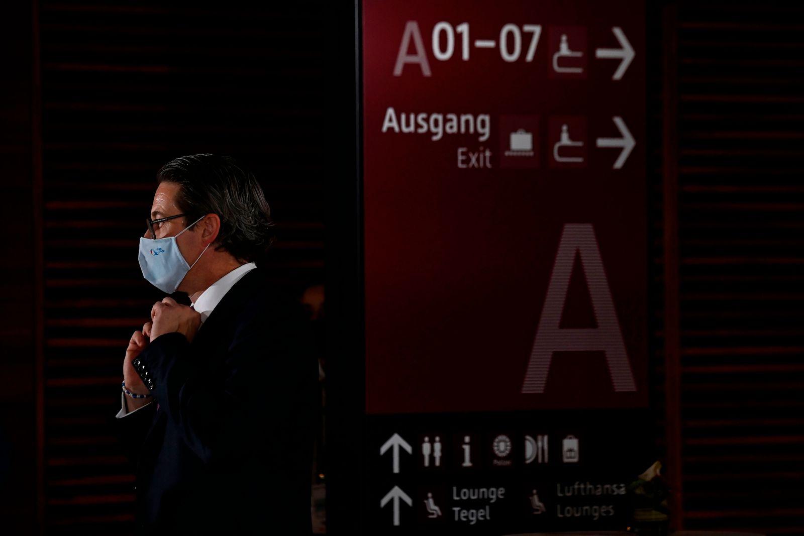 GERMANY-TRANSPORT-AVIATION-AIRPORT-AEROSPACE