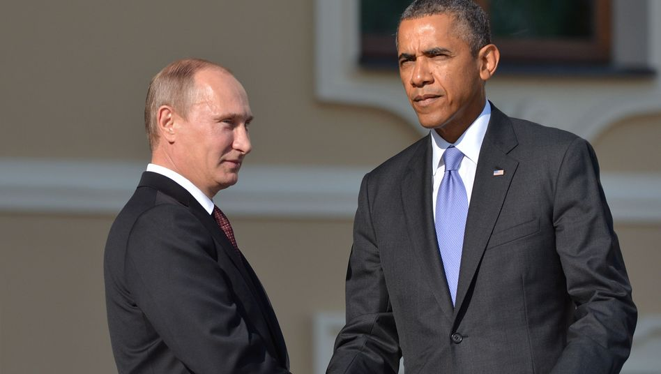 Präsidenten Putin, Obama (Archiv): Gemeinsam gegen den Islamischen Staat?