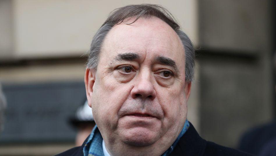 Ex-Regierungschef Salmond: Symbolfigur der schottischen Unabhängigkeitsbewegung