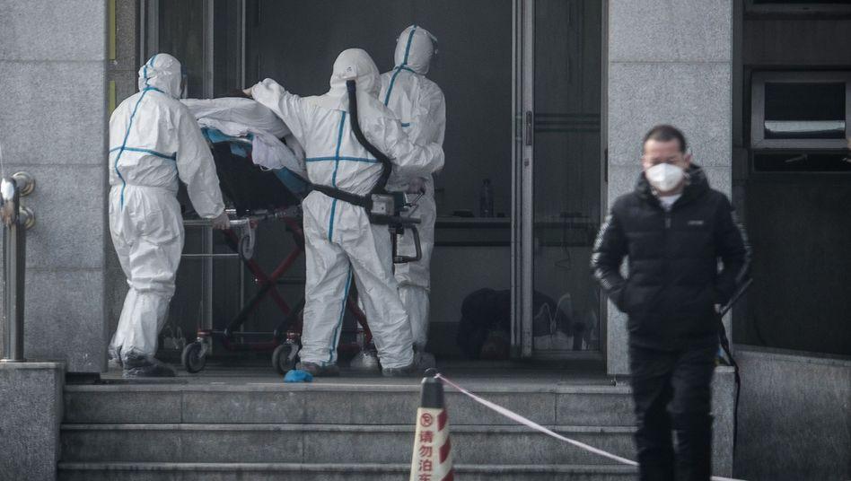 Neuartiges Coronavirus in China: Zahl der Patienten steigt sprunghaft an - auf 201