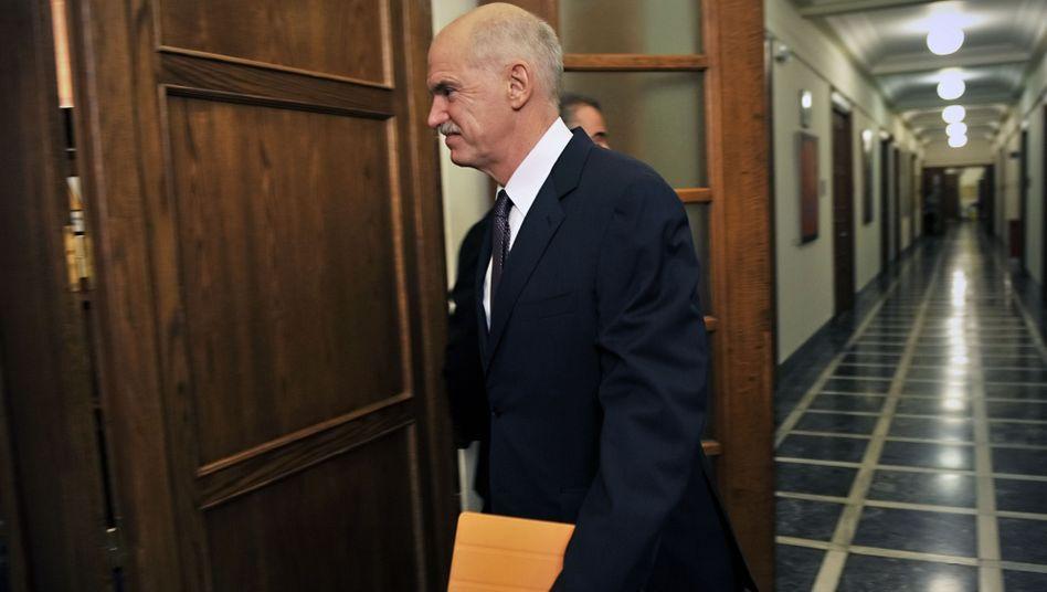 Griechenlands Premier Papandreou: Demokratie verteidigen, nicht Märkte
