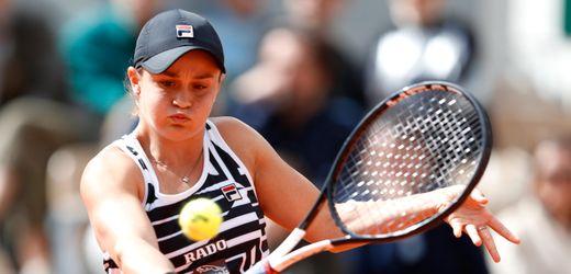 French Open: Ashleigh Barty verzichtet auf Start, Serena Williams grübelt noch