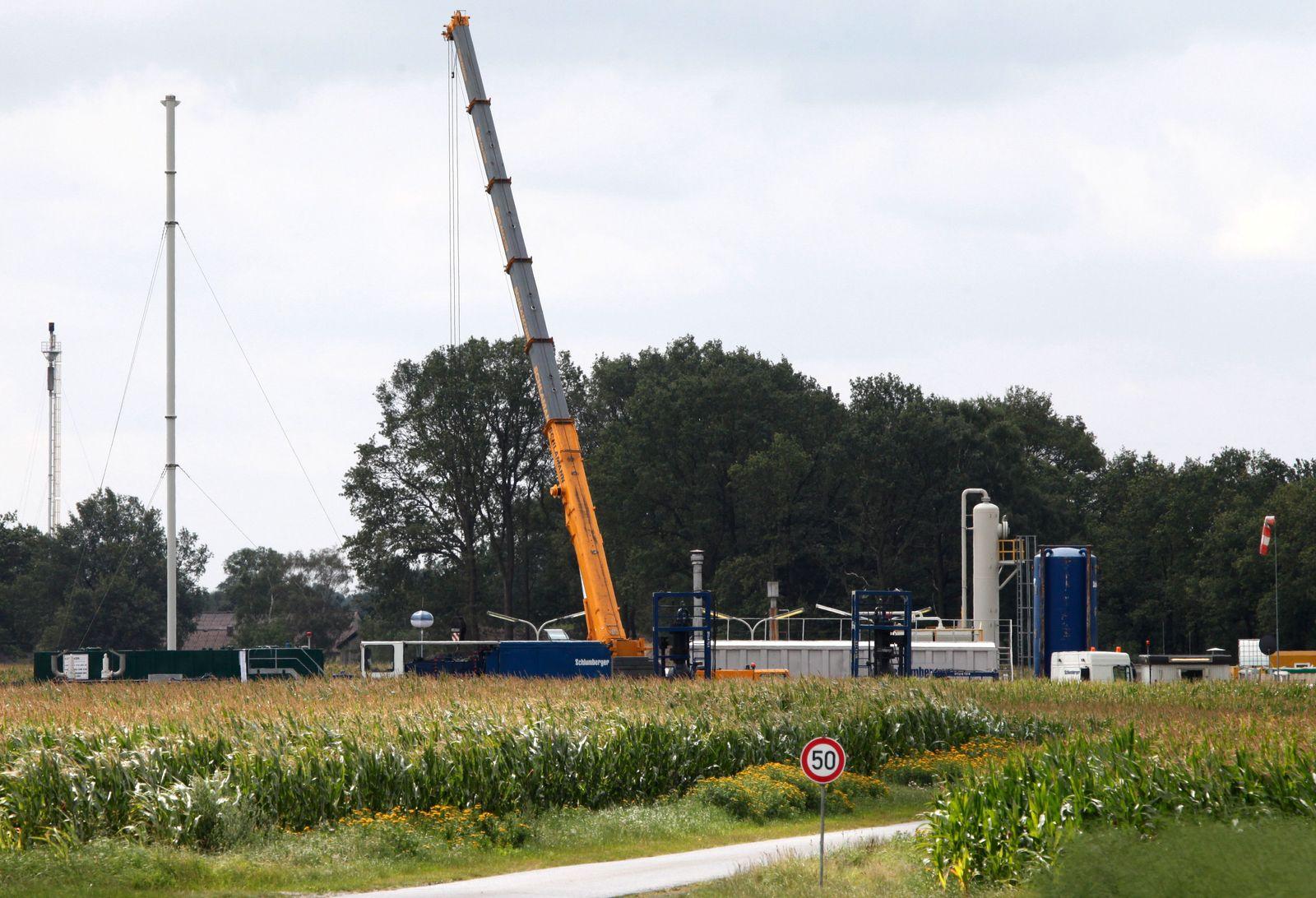 NICHT VERWENDEN Fracking / Deutschland