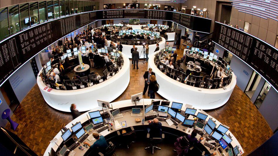 Frankfurter Börse: Computer übernehmen zunehmend die Macht