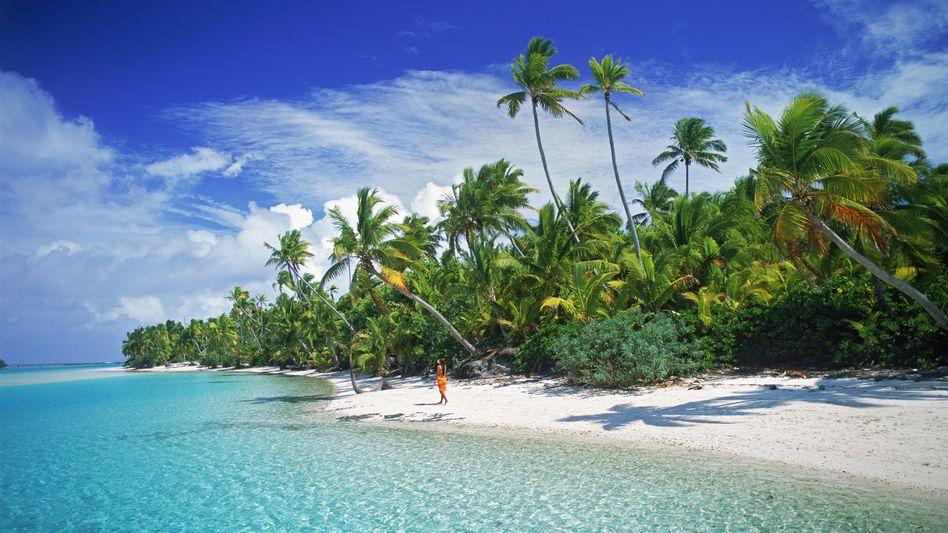 Aitutaki gehört zu den in der Südsee gelegenen Cookinseln