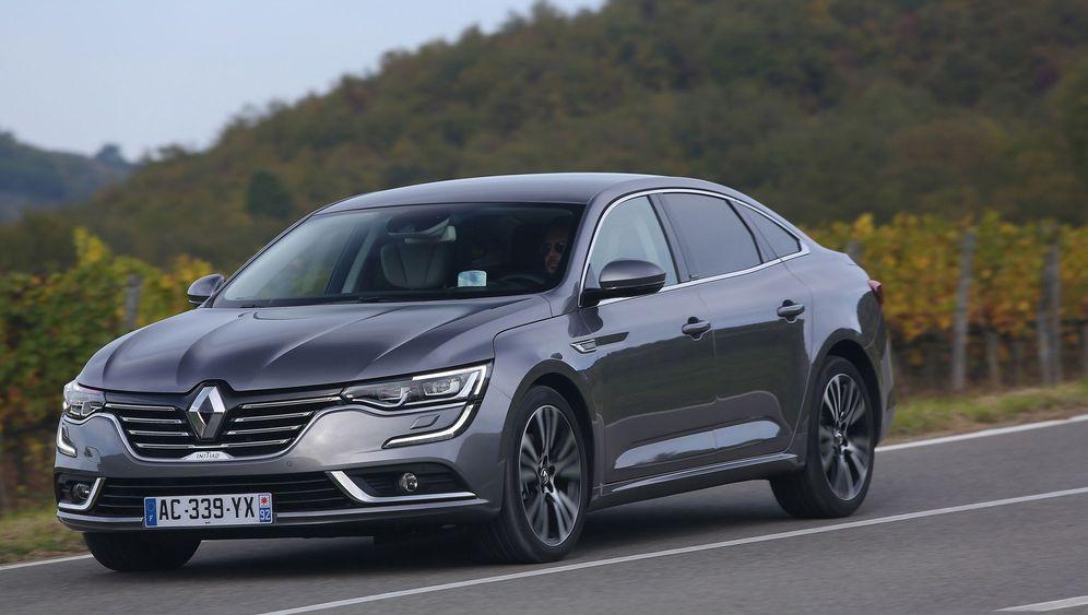 Autogramm Renault Talisman: Dann mal viel Glück