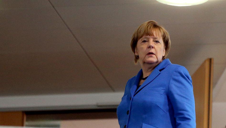 CDU-Chefin Merkel in CDU-Zentrale am 9. November 2015: Keine inhaltliche Festlegung