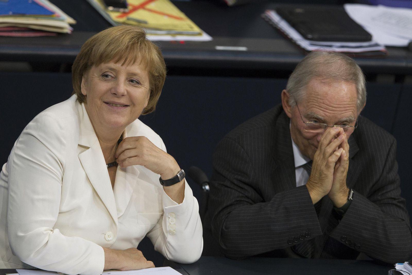 Merkel Schäuble