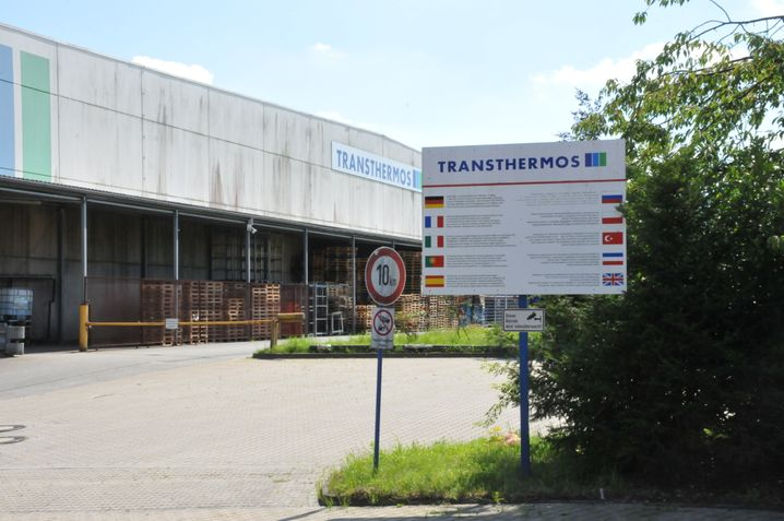 Der Sitz der Nagel Transthermos GmbH am Westring in Dissen