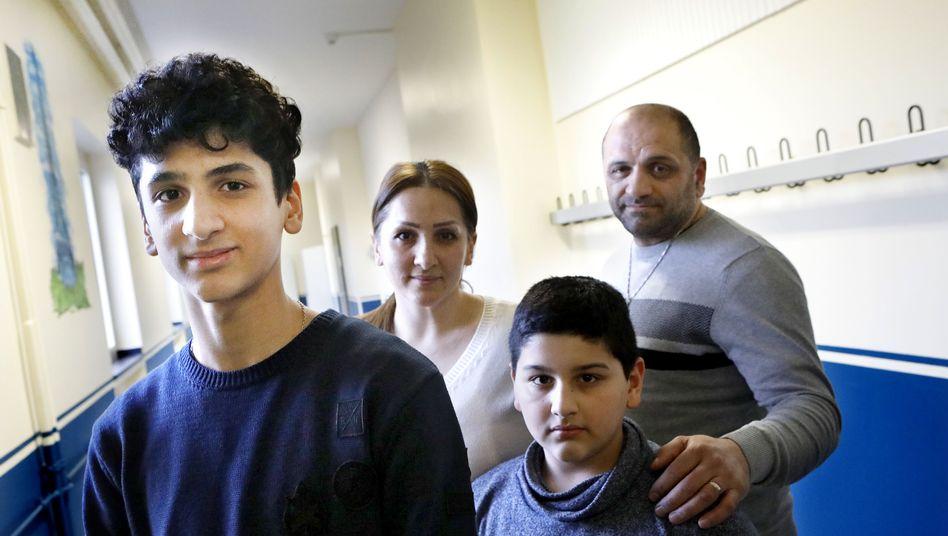 Der 14-jährige Edgar und seine Familie