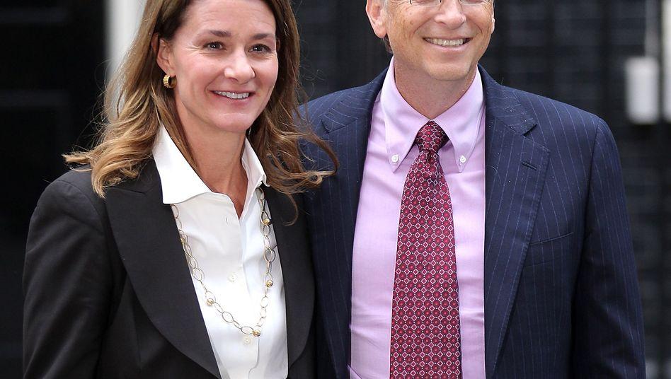 """Melinda und Bill Gates: """"Mama, das ist total peinlich"""""""