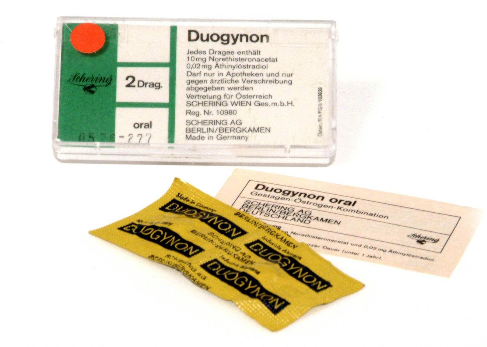 NICHT VERWENDEN Duogynon/Bayer/Schering