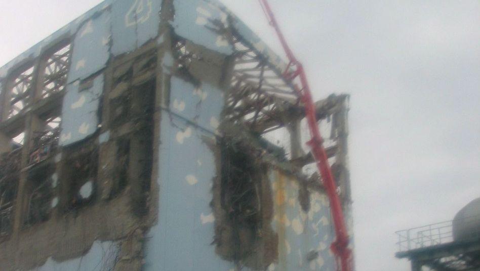 Reaktor 4 in Fukushima: Die Techniker verloren frühzeitig die Kontrolle