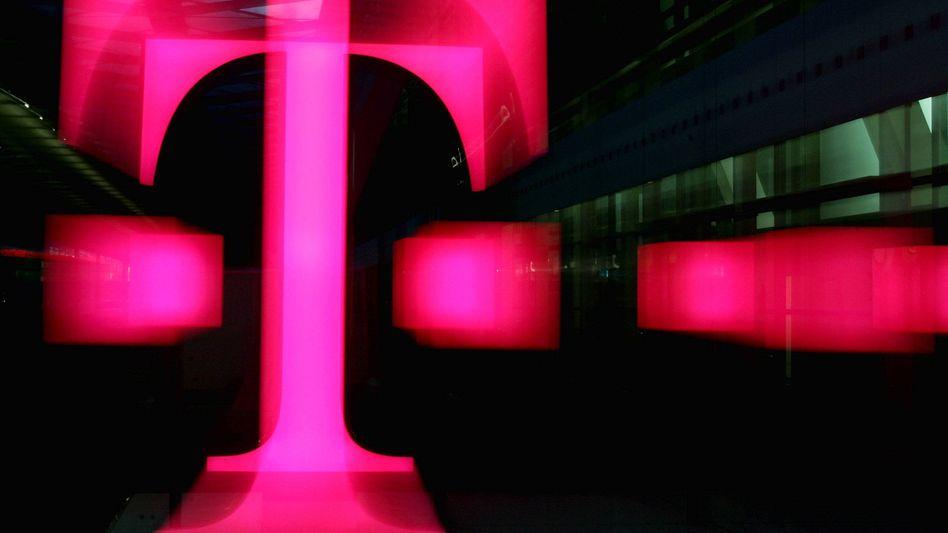 """Telekom-Logo: """"Ohne Zeit- oder Volumenbeschränkung"""""""