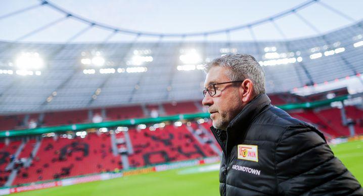 Der Trainer des 1. FC Union Berlin, Urs Fischer