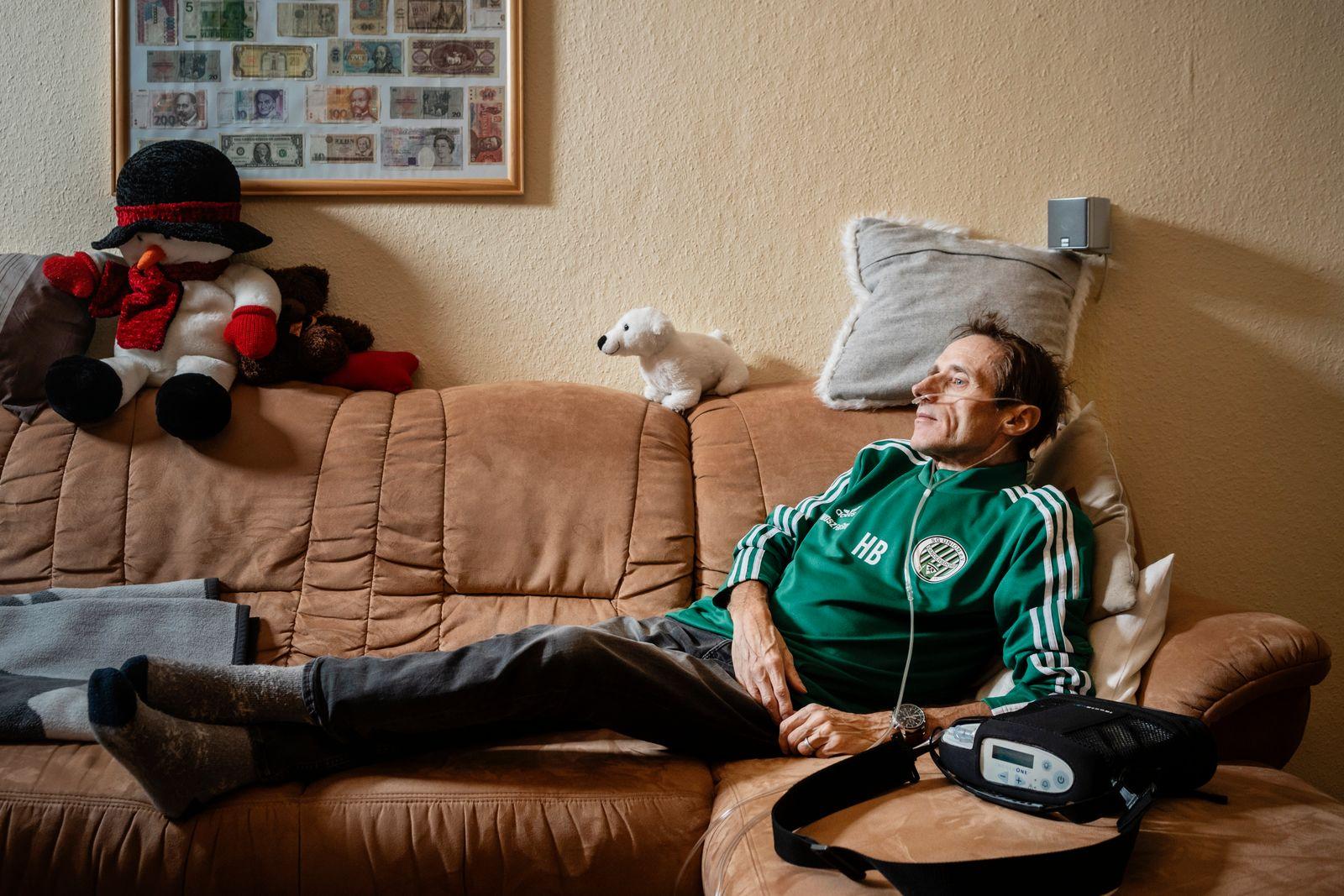 Start der Impfkampagne gegen Covid-19 ? Holger Bär aus Sandersleben