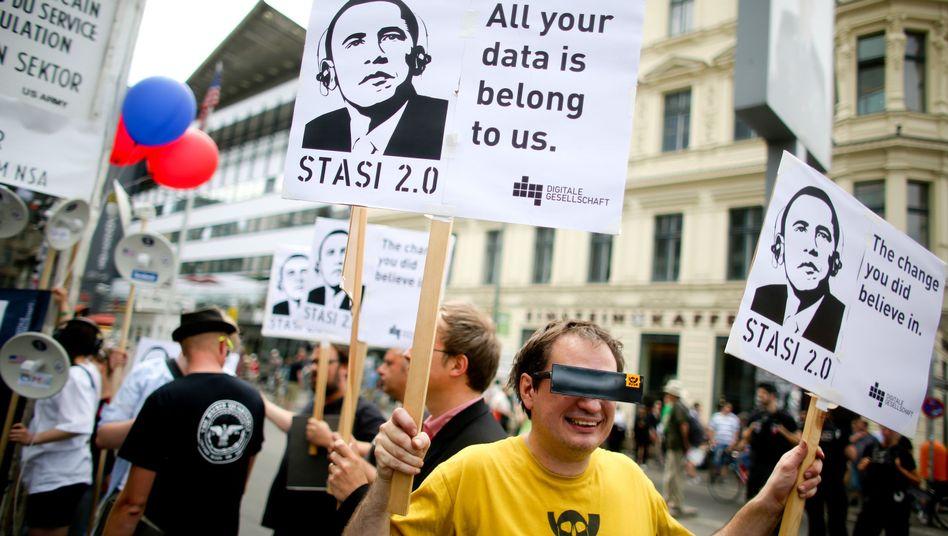 Demo gegen Überwachung (am 18. Juni in Berlin): US-Konzerne sorgen sich offenbar um ihren Ruf