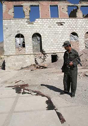Blutspur in Kabul: Ort der Steinigung von zwei Ausländern