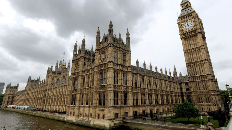 Westminster-Palast in London